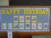 Our Birthday Chart. Tons of fun!