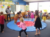 Sumo Wrestling at our Holiday Programme.